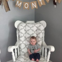 Chair Stand Up Trick Bedroom Table Set 4 Months The Infertility Game Of Life I Swear He Grows Faster And Everyday S Definitely More Baby Than Newborn Now His Newest Is Standing When