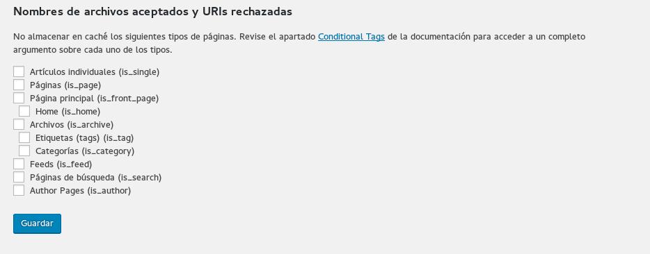 WP Super Cache, configuración paso a paso en Wordpress