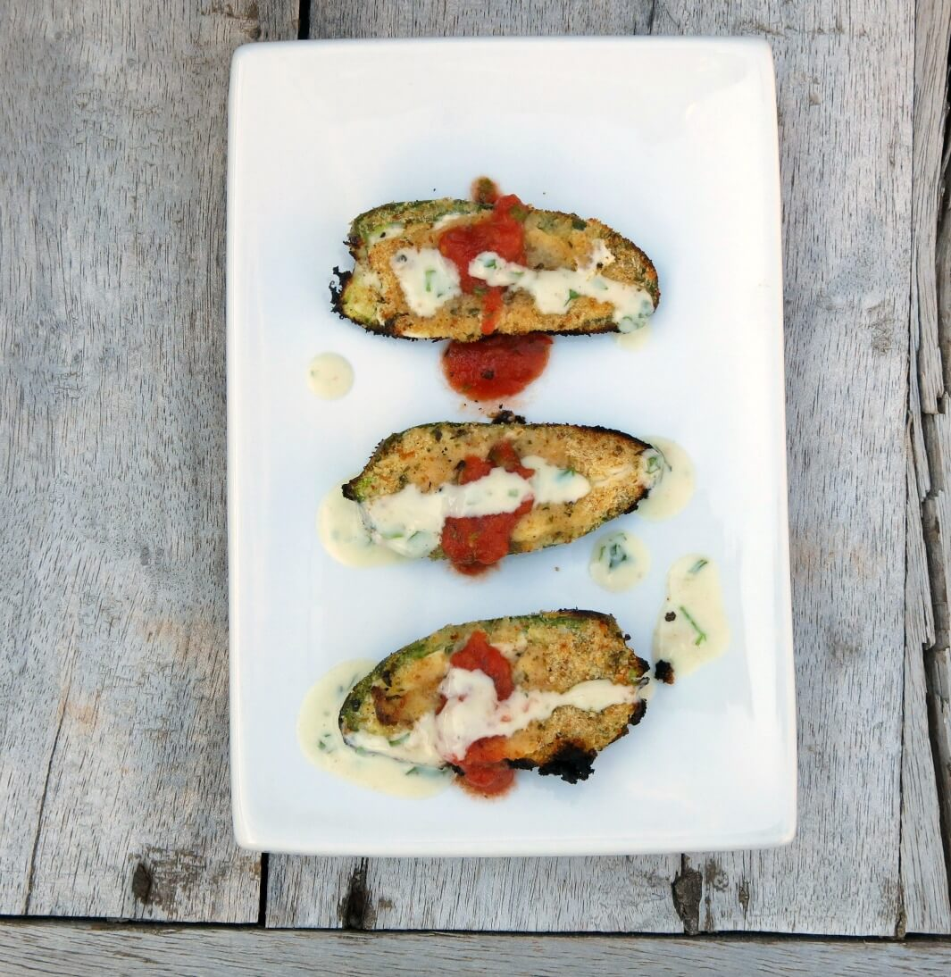 Fire-roasted Jalapeno Poppers