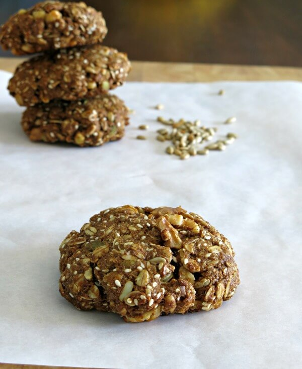 Breakfast Cookies with North Coast Naturals vegan North Coast Naturals molasses make-ahead cookies Breakfast