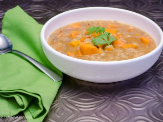 sweet potato soup | infinebalance.com