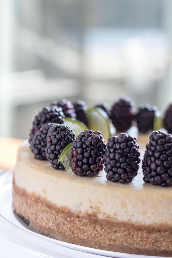 Key Lime Pie Cheesecake | infinebalance.com #recipe