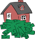 Gerald-G-House-sitting-on-a-pile-of-money