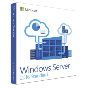 Windows Server 2016 Standard - MFR # P73-07113 Licencia RETAIL 1 Pc