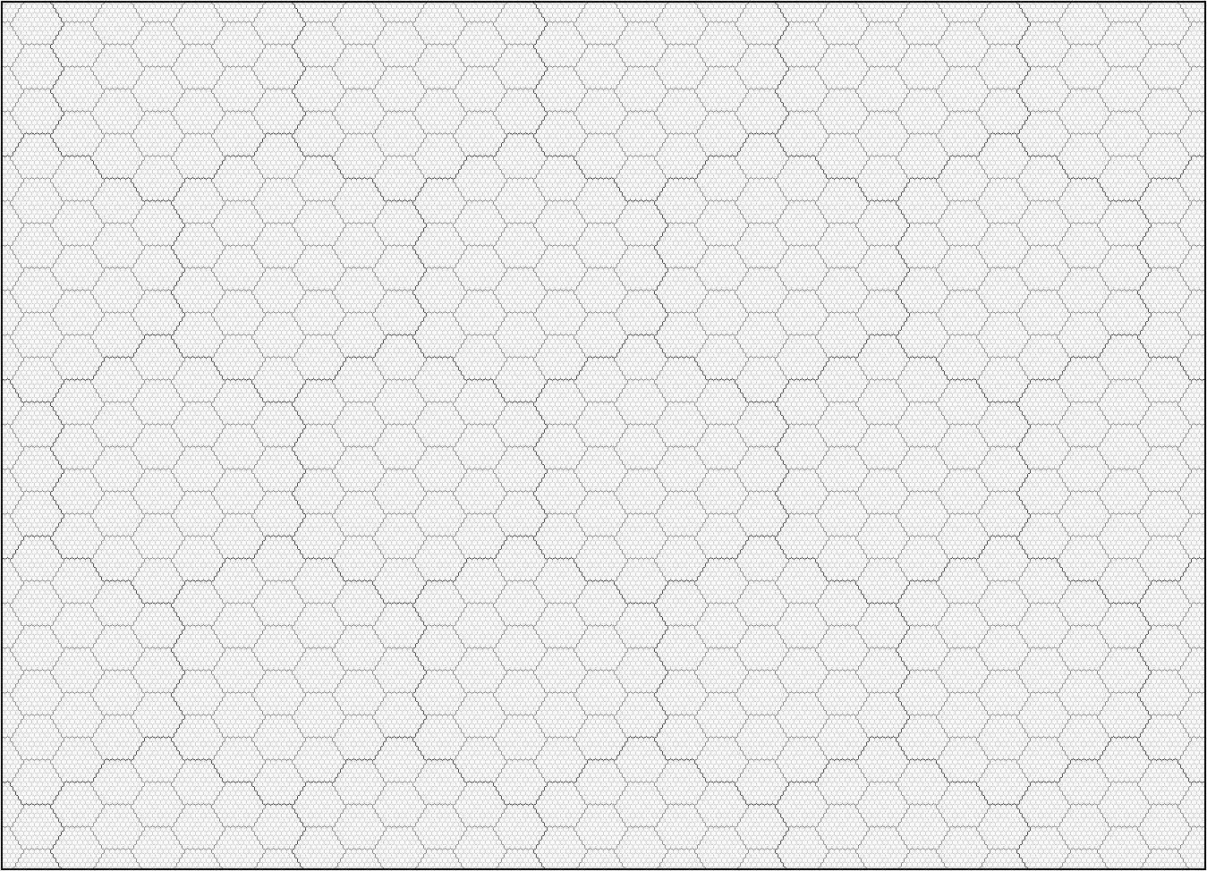 hexagon grid paper