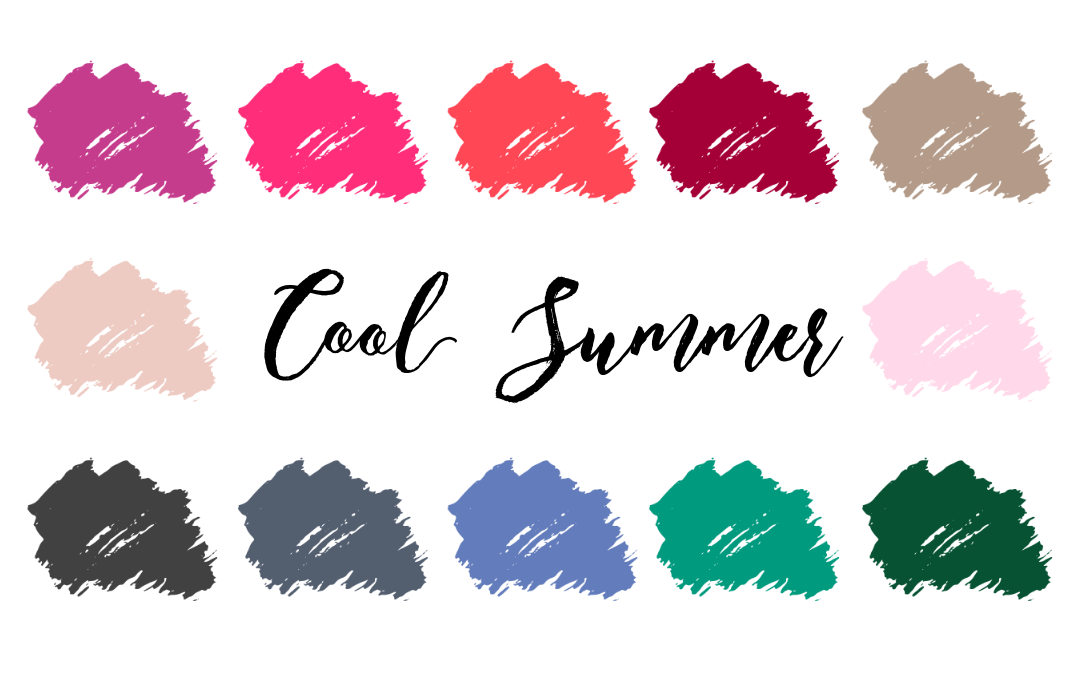 Cool Summer Palette True Summer Cool Light Infinite
