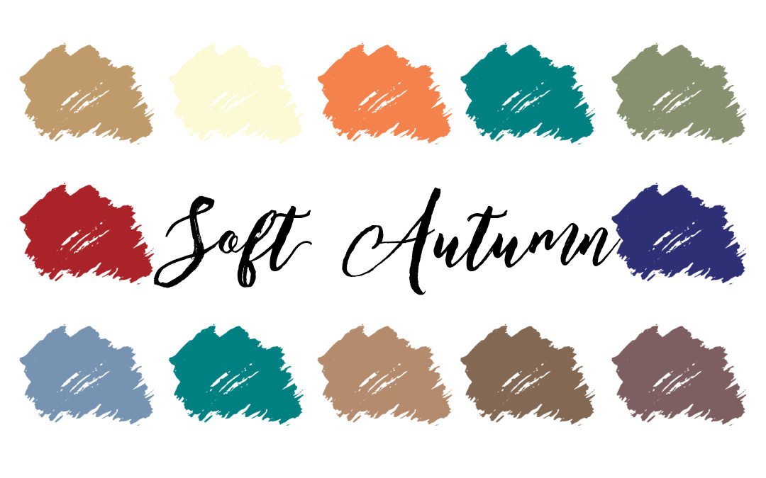 Soft Autumn Palette (Soft and Warm)