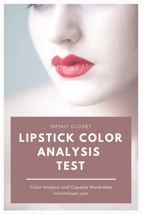 Seasonal Color Analysis Test Using Lipsticks