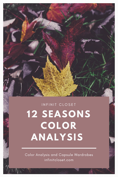 12 Seasons Color Analysis Overview