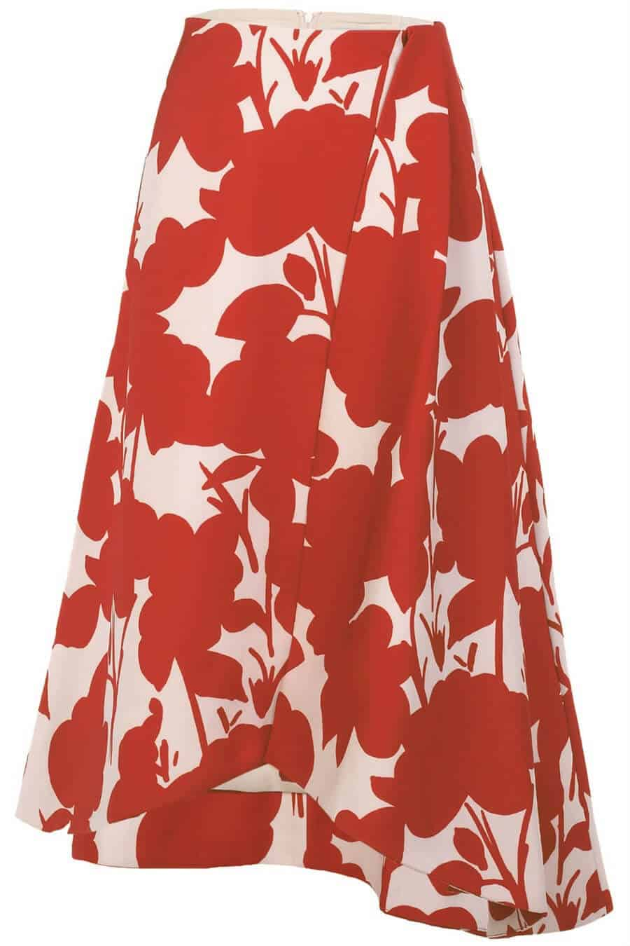 Style theory_keepsake-scribe-skirt-red-1_edit