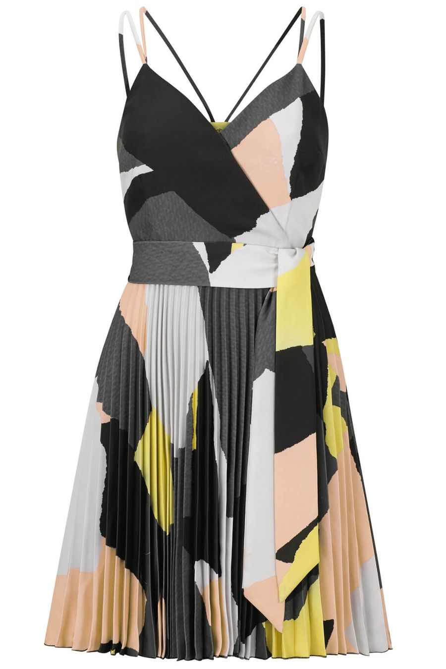 Style Theory_outline-camouflage-print-pleated-skirt-dress-1