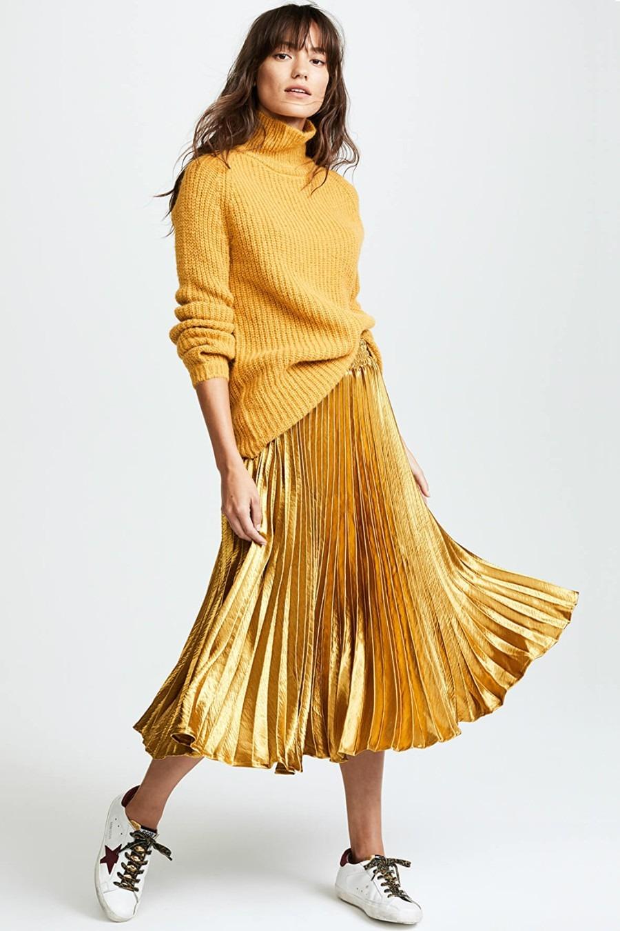 english-factory-metallic-satin-pleated-skirt-2