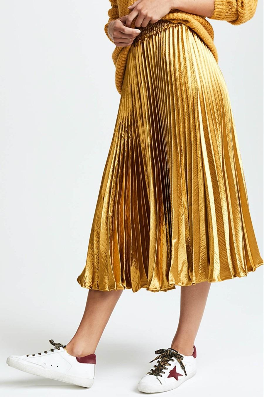 english-factory-metallic-satin-pleated-skirt-4 (1)
