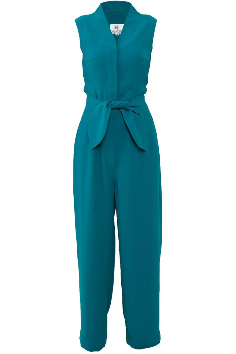 kraton-teal-jumpsuit-with-bow-belt-1