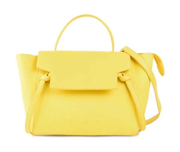 Style Theory Designer Bags_Celine Mini Belt Bag Yellow