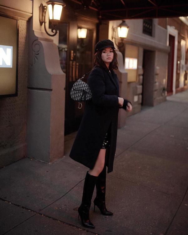 Style Theory Designer Bag_Oblique Saddle_Melody