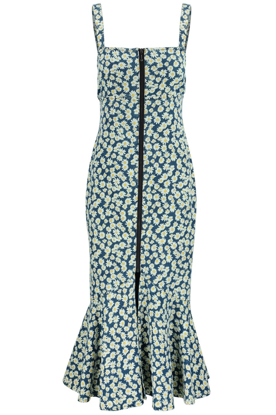 finders-keepers-Ruby Dress-Navy-Daisy-1
