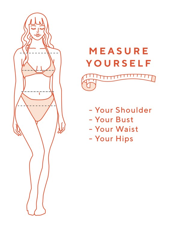 how to measure pear body shape