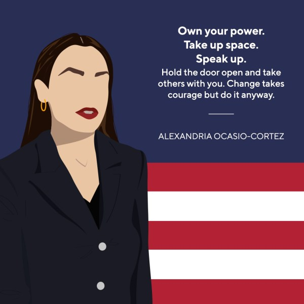 Style Theory IWD Women We Look Up To Alexandria Ocasio-Cortez