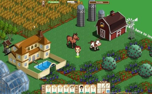 FarmVille, a Zynga property