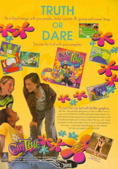 Girl Talk: a CD-ROM Game of Truth or Dare