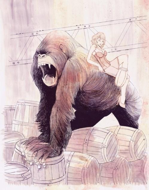 Isaac Bidwell - Donkey Kong