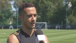 "Lucas Vázquez: ""We have to get that good feeling back"""