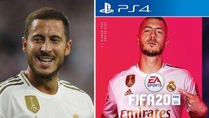Eden Hazard the new cover star of FIFA 20