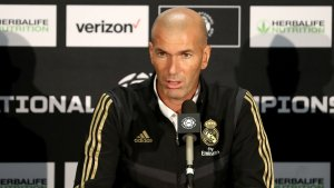 """Zidane: """"We improved today and put in a good display"""""""
