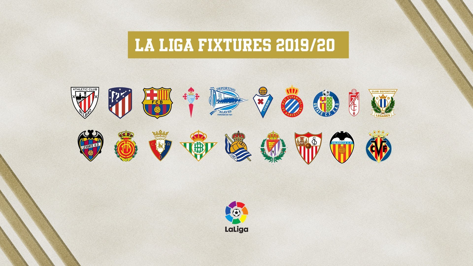 Revealed: Real Madrid's 2019/20 LaLiga fixtures