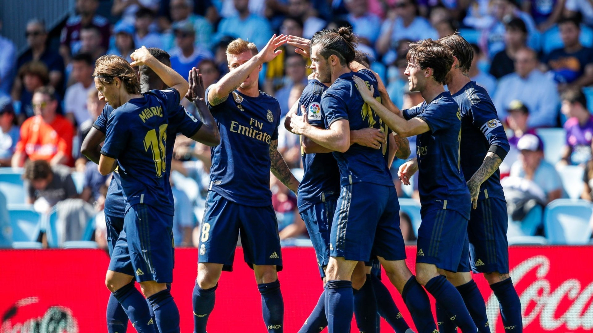 How Real Madrid scored the perfect team-goal against Celta