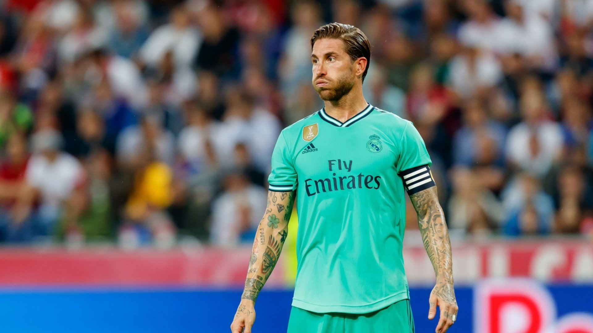 Ramos misses training ahead of Roma friendly