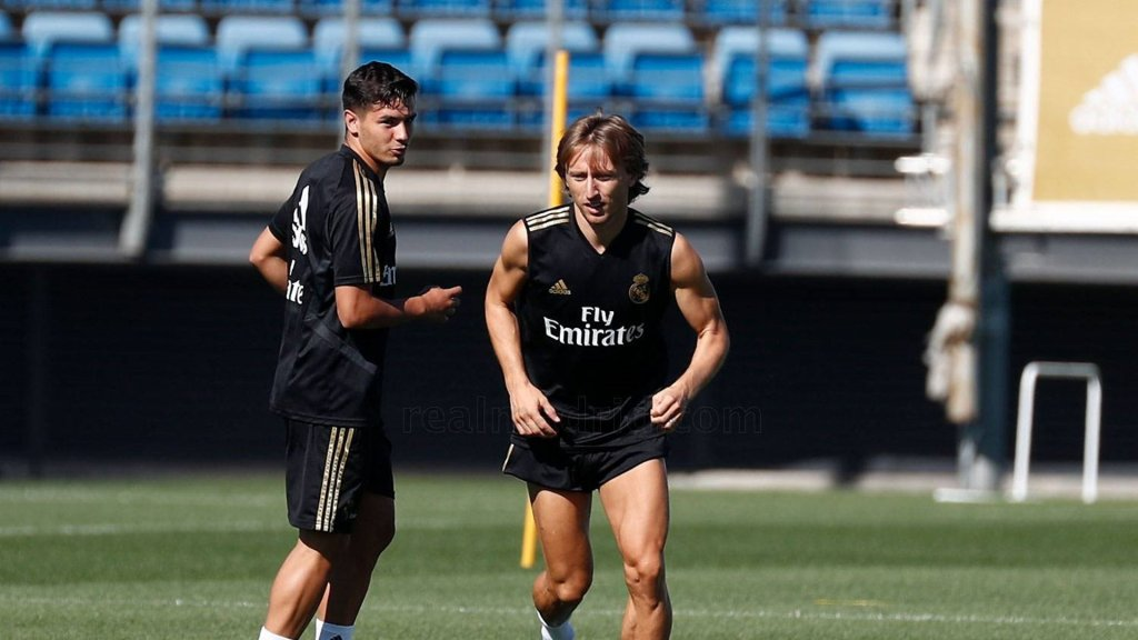 Brahim Diaz trains with the team – Bale & Navas are also back