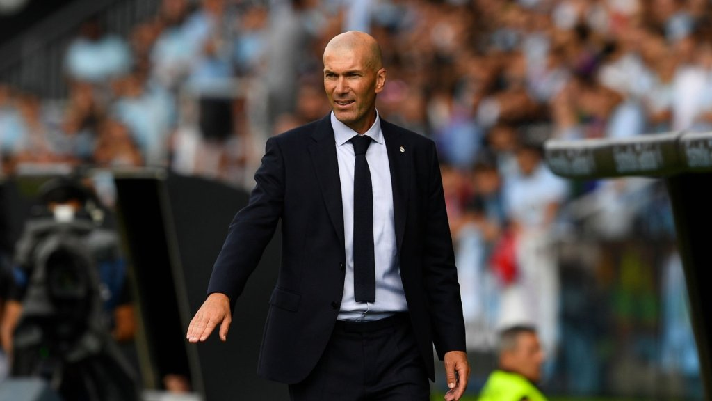 "Zidane: ""We're satisfied because this is a tough place to come to"""