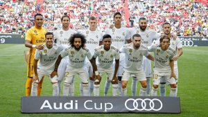 Real Madrid's 20-man squad to face Roma