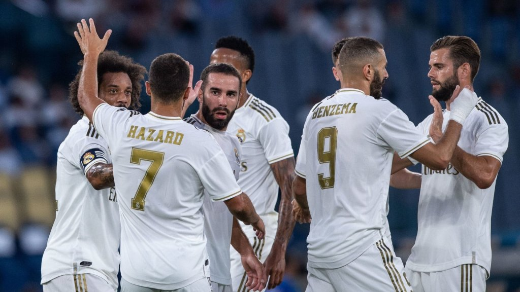 Revealed: Real Madrid's Champions League squad