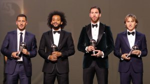 Ramos, Marcelo, Modric and Hazard named in FIFA FIFPro World11