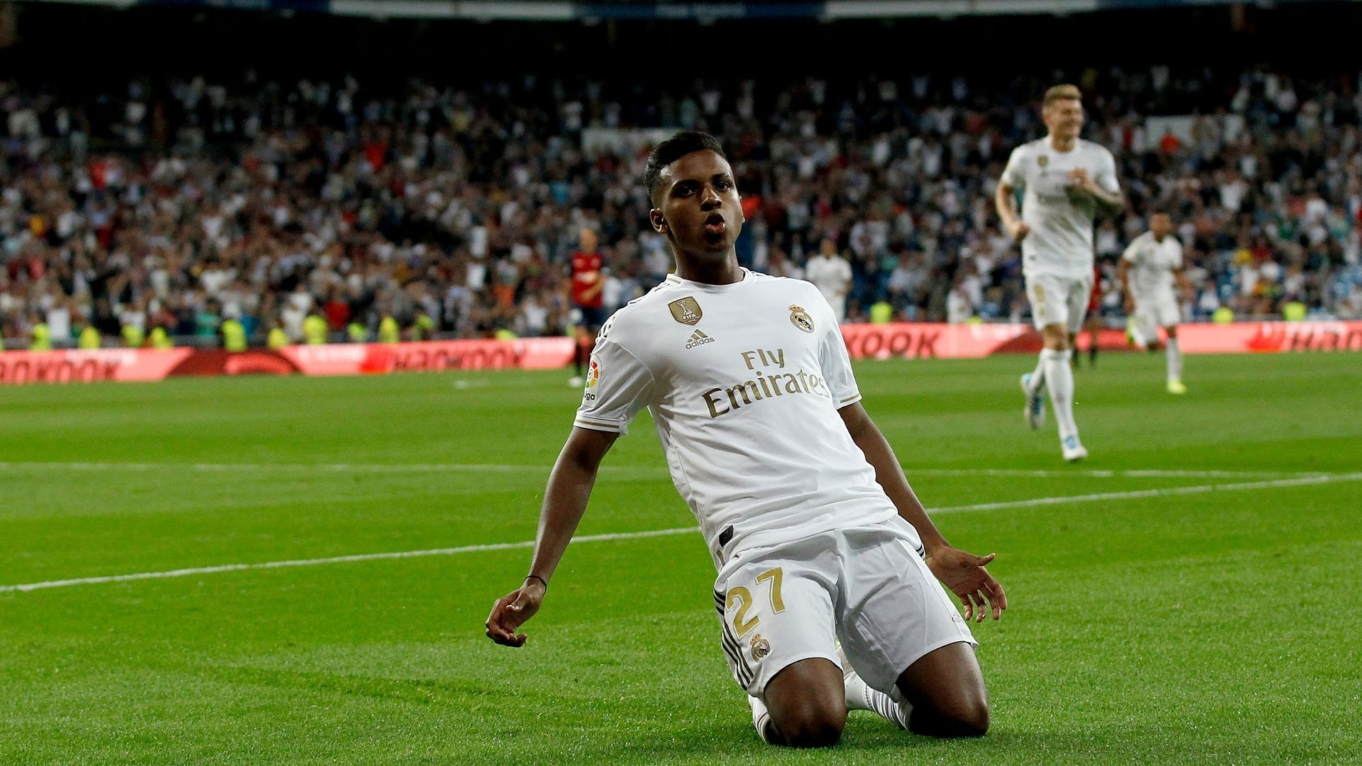 Revealed: Real Madrid's 19-man squad to face Granada