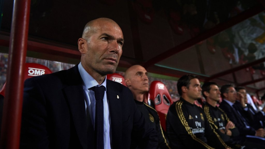 "Zidane: ""We didn't create any real goal-scoring chances"""