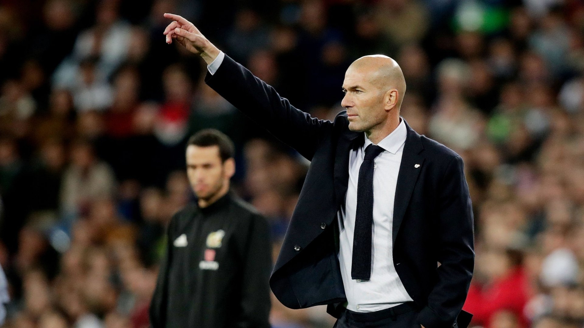 "Zidane: ""The team had a great attitude and we just needed a goal"""