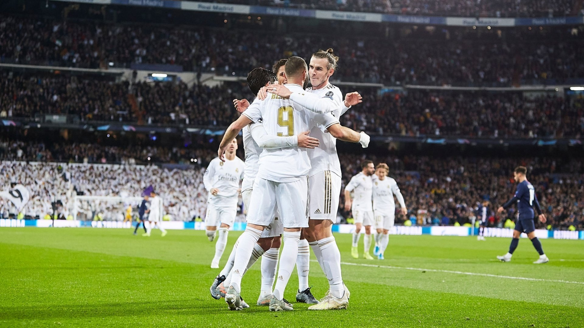 Report: Real Madrid 2-2 Paris Saint-Germain