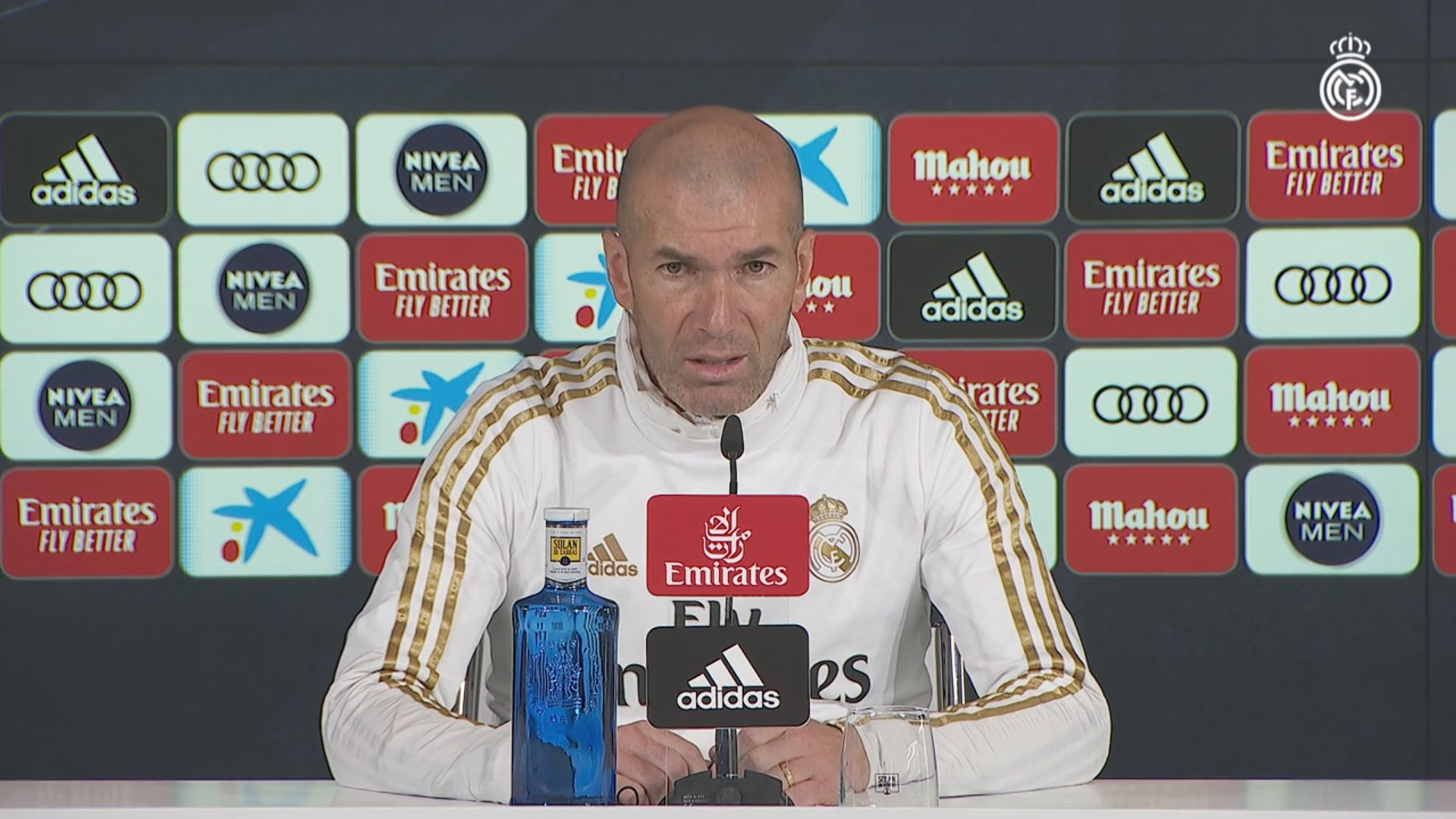 "Zidane: ""It will be difficult, it's a tough place to go and Alavés are strong"""
