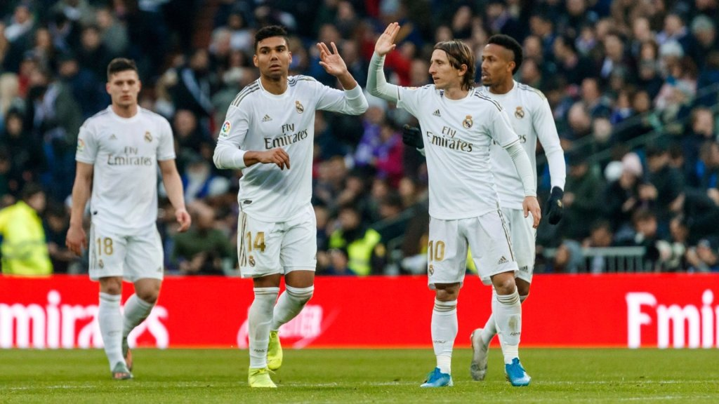 Confirmed: Real Madrid's 19-man squad for the Madrid derby