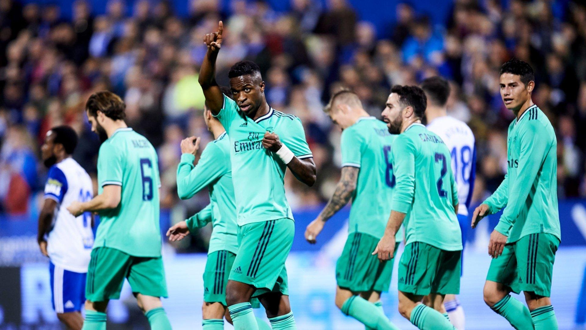 Vinicius Jr, Lucas and Carvajal react to Copa del Rey win