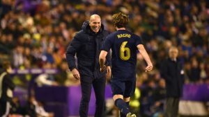 """Zidane: """"It's three important points, but nothing more"""""""
