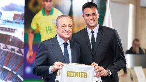 Reinier Jesus officially unveiled as a Real Madrid player