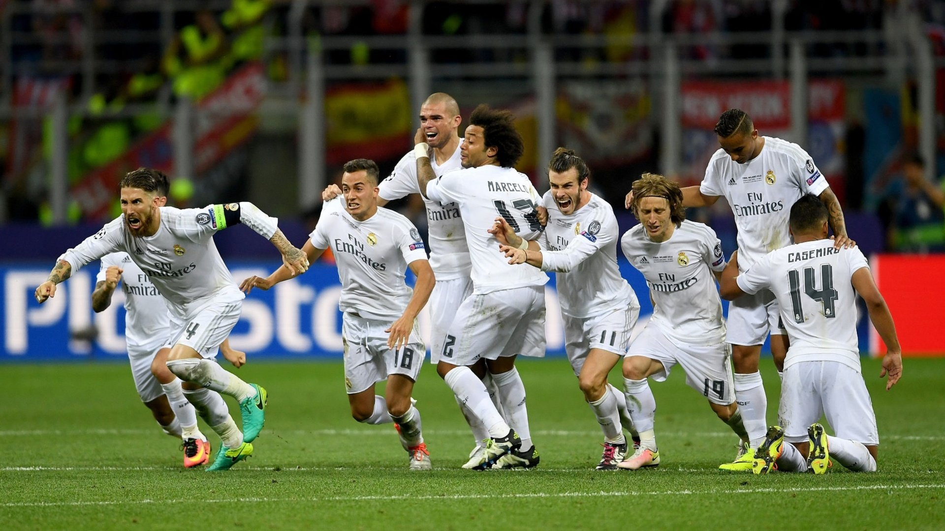 Highlights: Penalty drama in Milan – La Undécima 4 years ago today