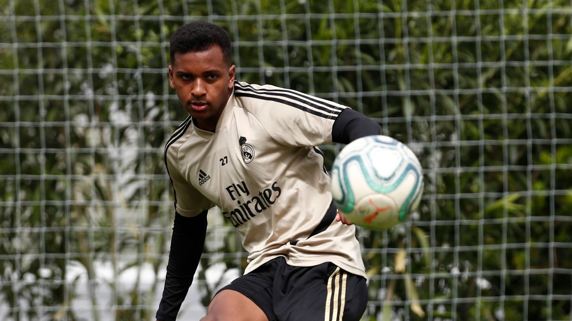 "Rodrygo: ""We are working hard to give our best to win LaLiga"""