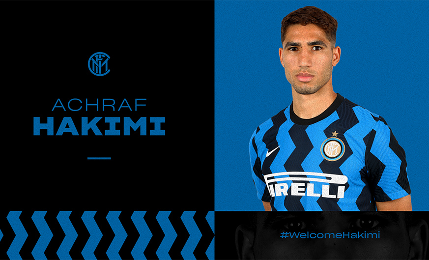 OFFICIAL: Achraf Hakimi leaves Real Madrid to join Inter
