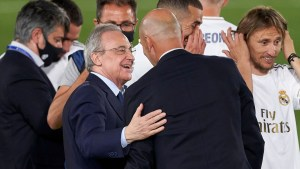 Don't shy away Florentino, this is the time to financially back Zidane
